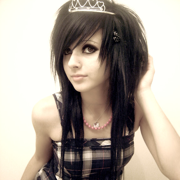 Answer: The best way to get the female emo hair style that